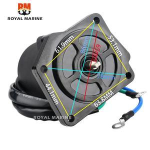 Image 3 - 6D8 43880 Trim Motor Für Yamaha außenbordmotor 4 Hub F75 F80 F90 F100 6D8 43880 00 6D8 43880 01 boot motor