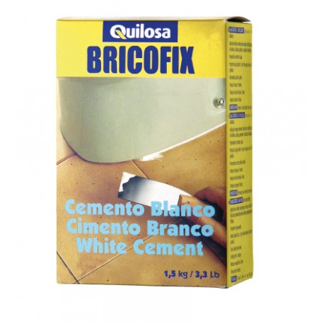 WHITE CEMENT BRICOFIX 1,5 KG. 88138