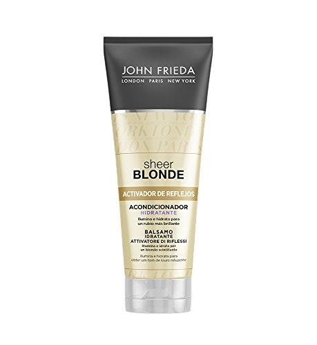 Colour Reviving Conditioner For Blonde Hair Sheer John Frieda (250 Ml)