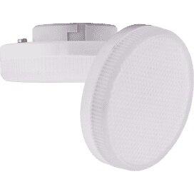 Лампа светодиодная Ecola Light GX53 LED 6,0W Tablet 2800K 27x75 матовое стекло 30000h T5MW60ELC