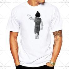 Летняя мужская Веселая Вегета футболка с принтом лучшего друга