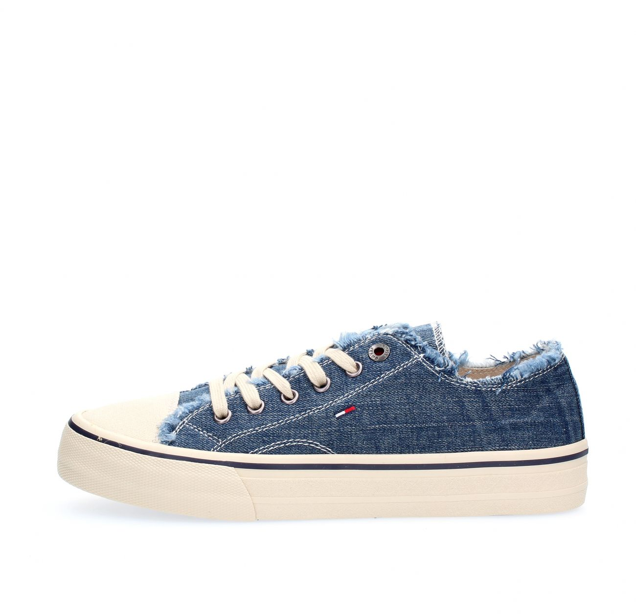 Borra gallerian Sticka  SNEAKERS men TOMMY HILFIGER EM0EM00298 LOWCUT 404 DENIM|Sneaker ...