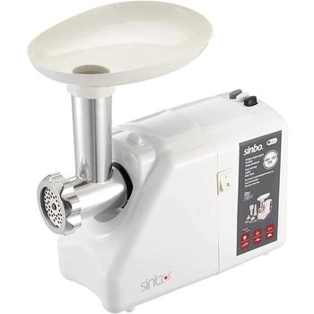 Sinbo SHB-3176 meat grinder 2000W Max powerful electric meat grinder household sausage Stuffer meat grinder food processor meat grinder home manual meat grinder multi function hand shake meat grinder sausage grinder ok