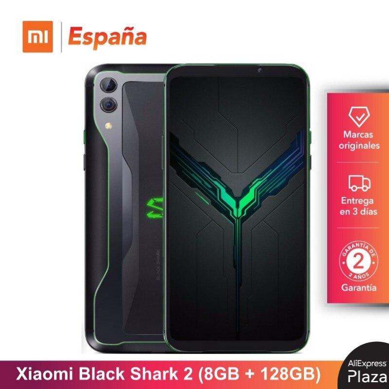 Xiaomi Black Shark 2 (128GB ROM, 8GB RAM, Camara Dual De 48MP + 12MP, Nuevo, Libre) [Teléfono Movil Versión Global Para España]