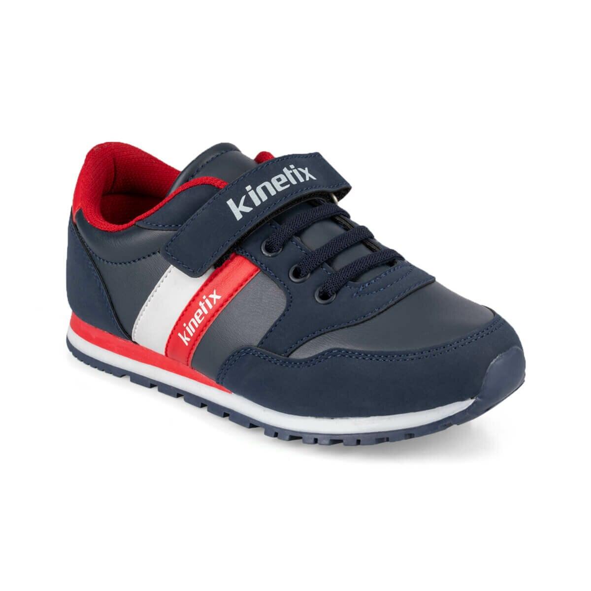 FLO PAYOF PU 9PR Navy Blue Male Child Sneaker Shoes KINETIX