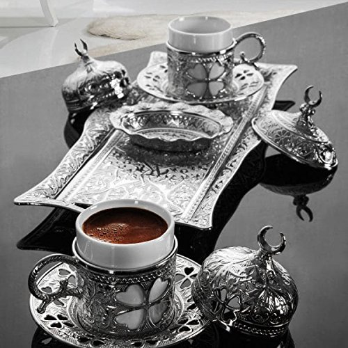 <font><b>Set</b></font> of 2 Copper Ottoman Turkish <font><b>Coffee</b></font> <font><b>Cups</b></font> <font><b>Set</b></font> Made in Turkey Arabic <font><b>Coffee</b></font> <font><b>Cup</b></font> <font><b>Set</b></font> Anatolian Turkish Coffe <font><b>Cup</b></font> <font><b>Set</b></font> Traditional image