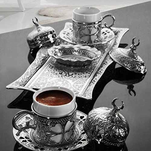 2つの銅オスマントルココーヒーカップセットトルコ製トルコアラビアコーヒーセットトルコティーカップセットエスプレッソカップ伝統的なトルココーヒーカップセットアナトリアトルココーヒーティーセットスタイリッシュでユニーク