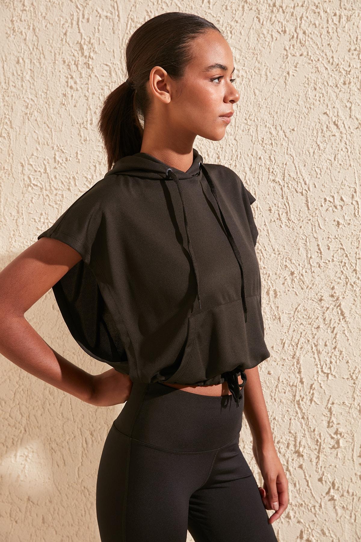 Trendyol Pockets Sports Sweatshirt TWOSS20SW0166