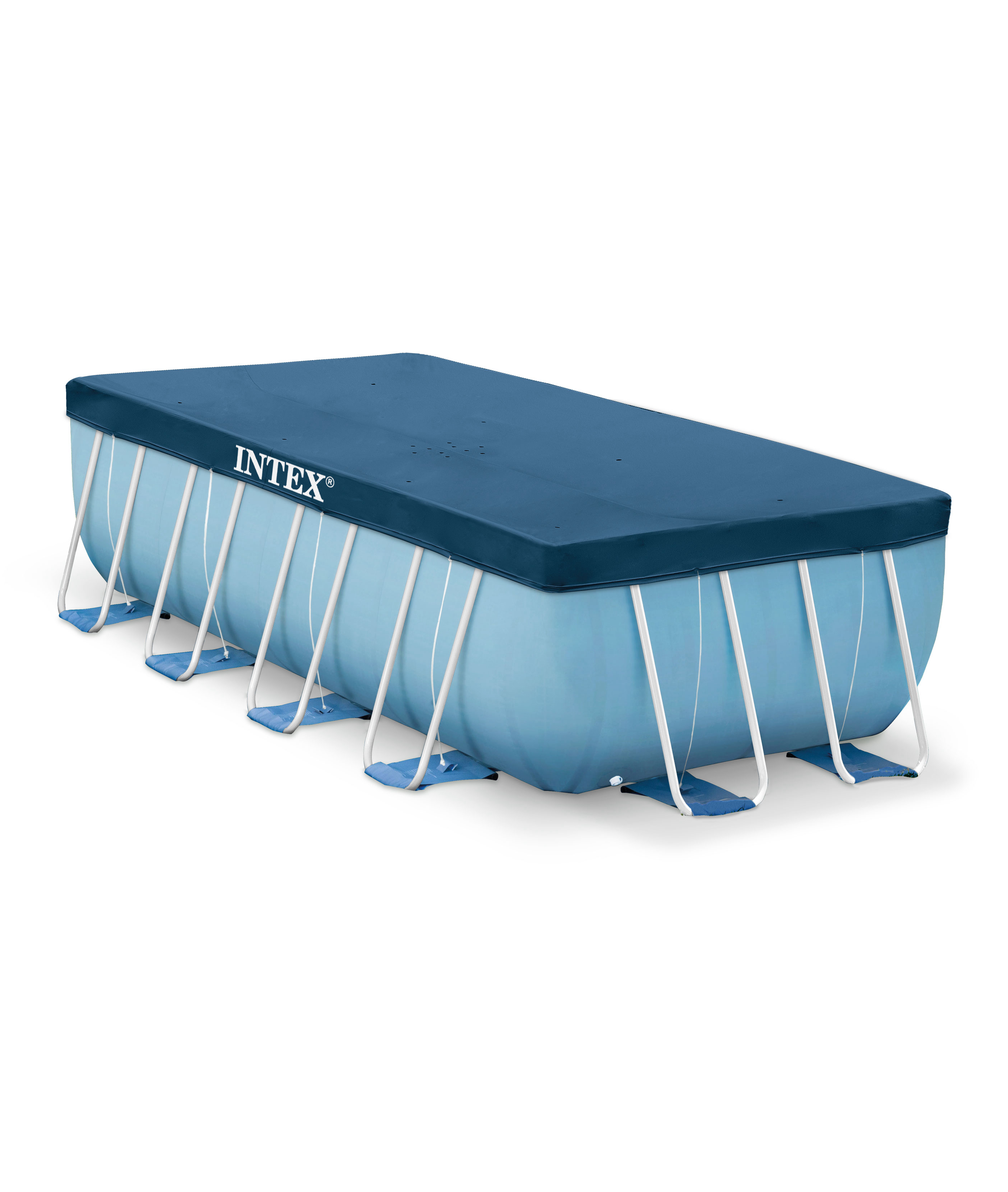 Awning For Frame Pools, Accessory For Swimming Pool, Bedspread On Pool, Protection, 400x200 Cm, Intex, Item No. 28037