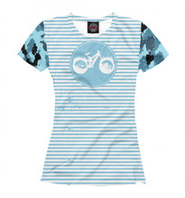 Girls's T-shirt MTB bike