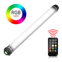 RGB Waterproof Photography Light Powerbank 1000LUX USB Rechargeable Camping Video for Studio
