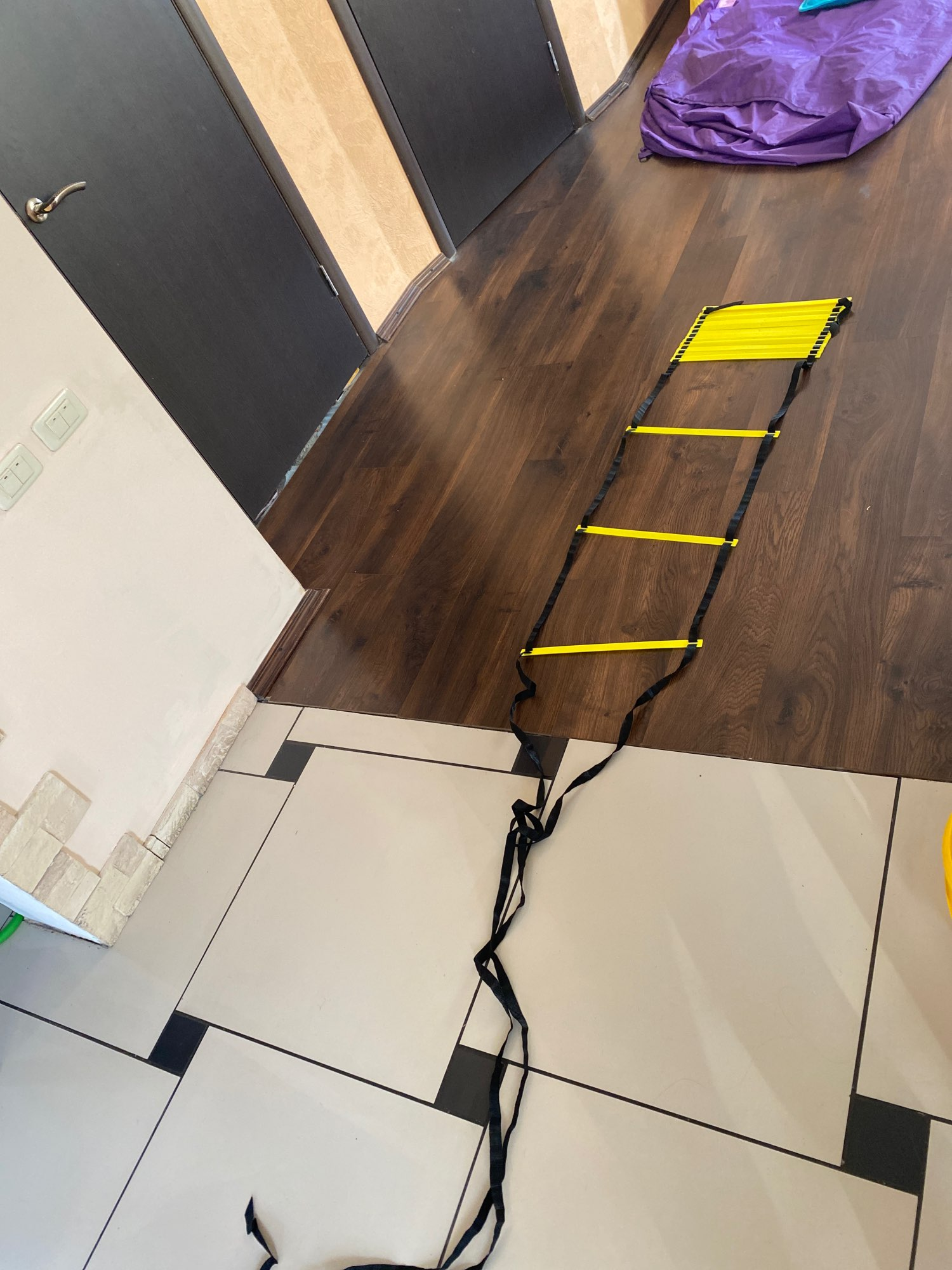 Agile Staircase for Fitness Soccer Football Speed Ladder Equipment photo review