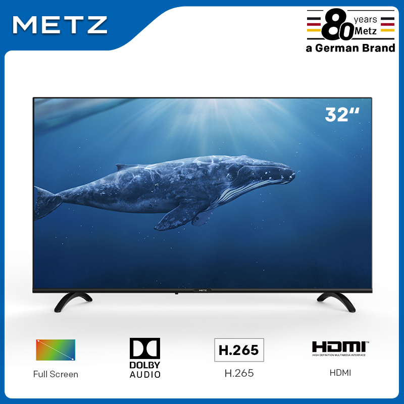 Television 32INCH LED TV METZ 32MTB2000 Frameless Dobly audio H.265 DVB-T/T2/C/S/S2 Plaza (Shipping from Spain,2-Year Warranty) image