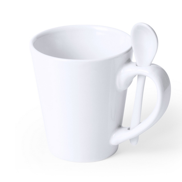 Mug With Small Spoon (350 Ml) 145184