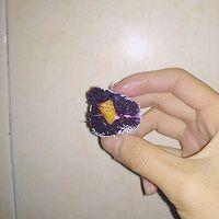 芒果椰香紫薯球的做法图解8