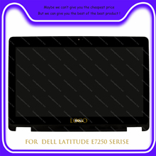 Digitizer Latitude Replacement-Assembly Touch-Screen Dell FHD for Xdt86/hpx18 LCD E7250