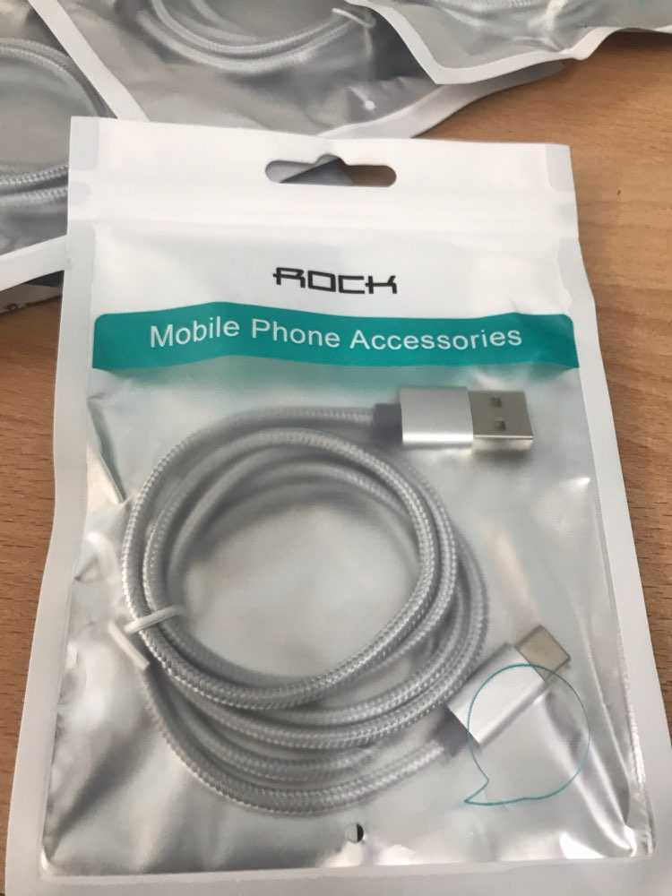ROCK Metal USB Type C Cable Fast charging Cable for Samsung Galaxy S8 Note 8 OnePlus 2 3 4 5 6 6t for Xiaomi 8 USB C USB Type C|Mobile Phone Cables|   - AliExpress