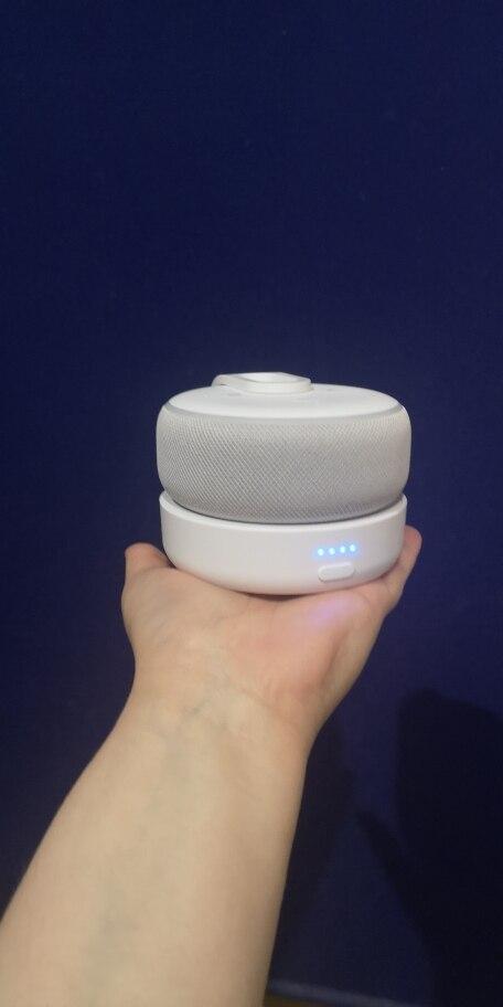 GGMM Original Portable Charging Battery Base For Amazon Echo Dot 3rd Gen Mini Wireless Bluetooth Speaker For Alexa with 8 Hours