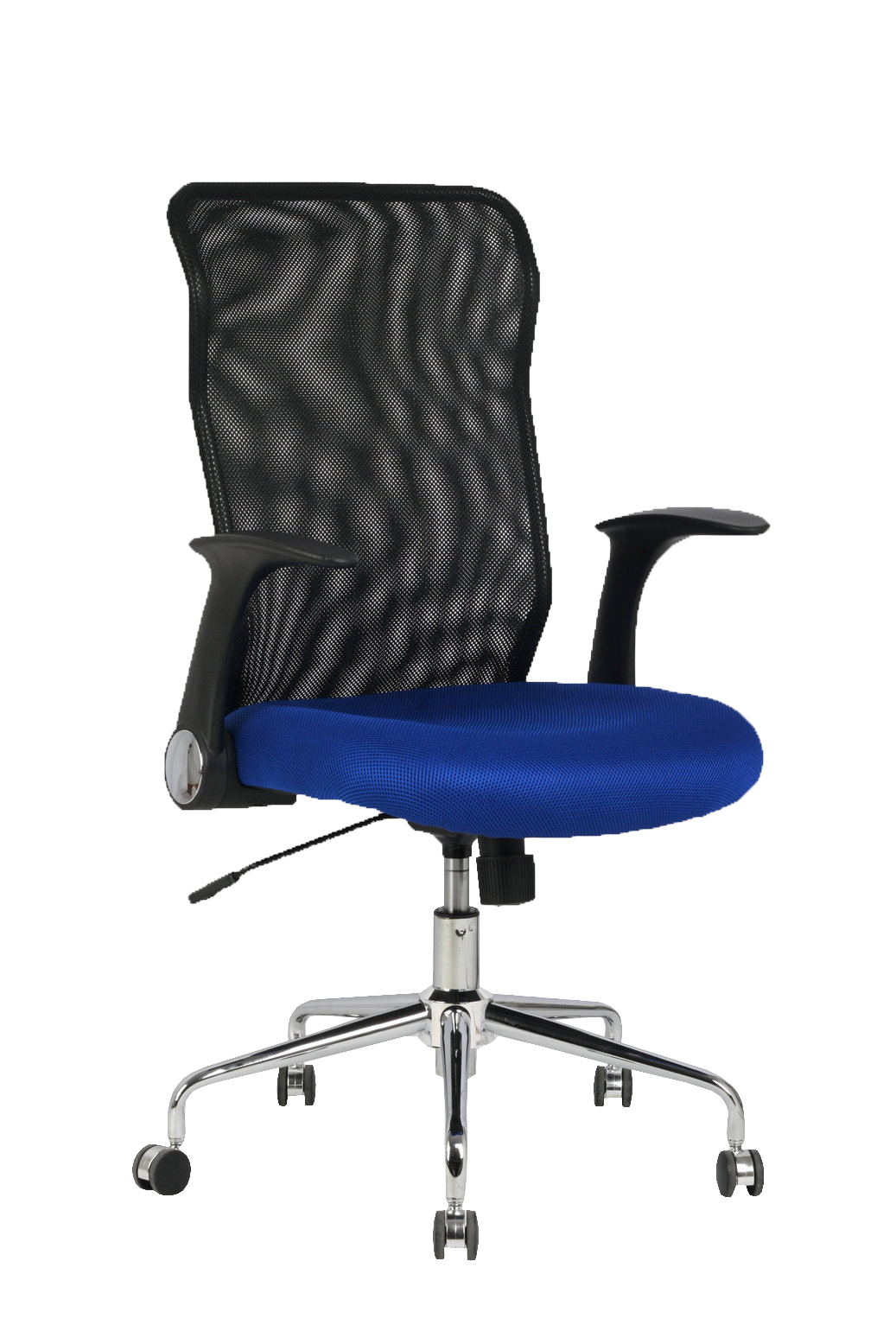 Chair's Office Desk Ergonomic With House Mechanism Tilting, Arms Retractable And Dimmable In High Altitude Respaldo De Mesh Tran
