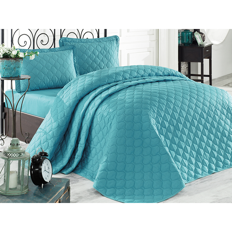 bedspread turquoise