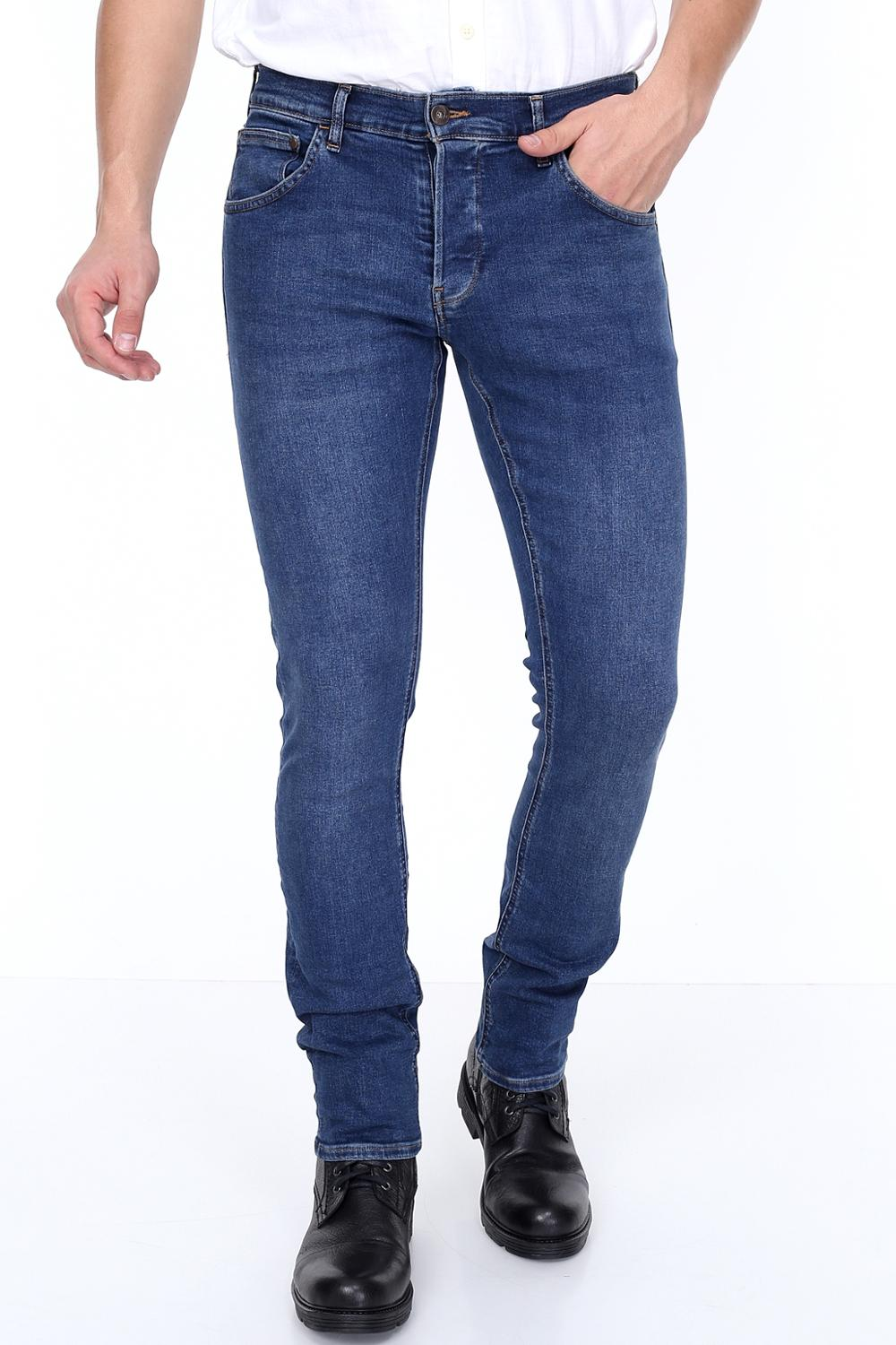 HW 15624-2 Mens Jeans Slim Fit, Stretch, Gift For Men Real European Size, Comfort, Turkish, Стильный дизайн,Homme Denim Style