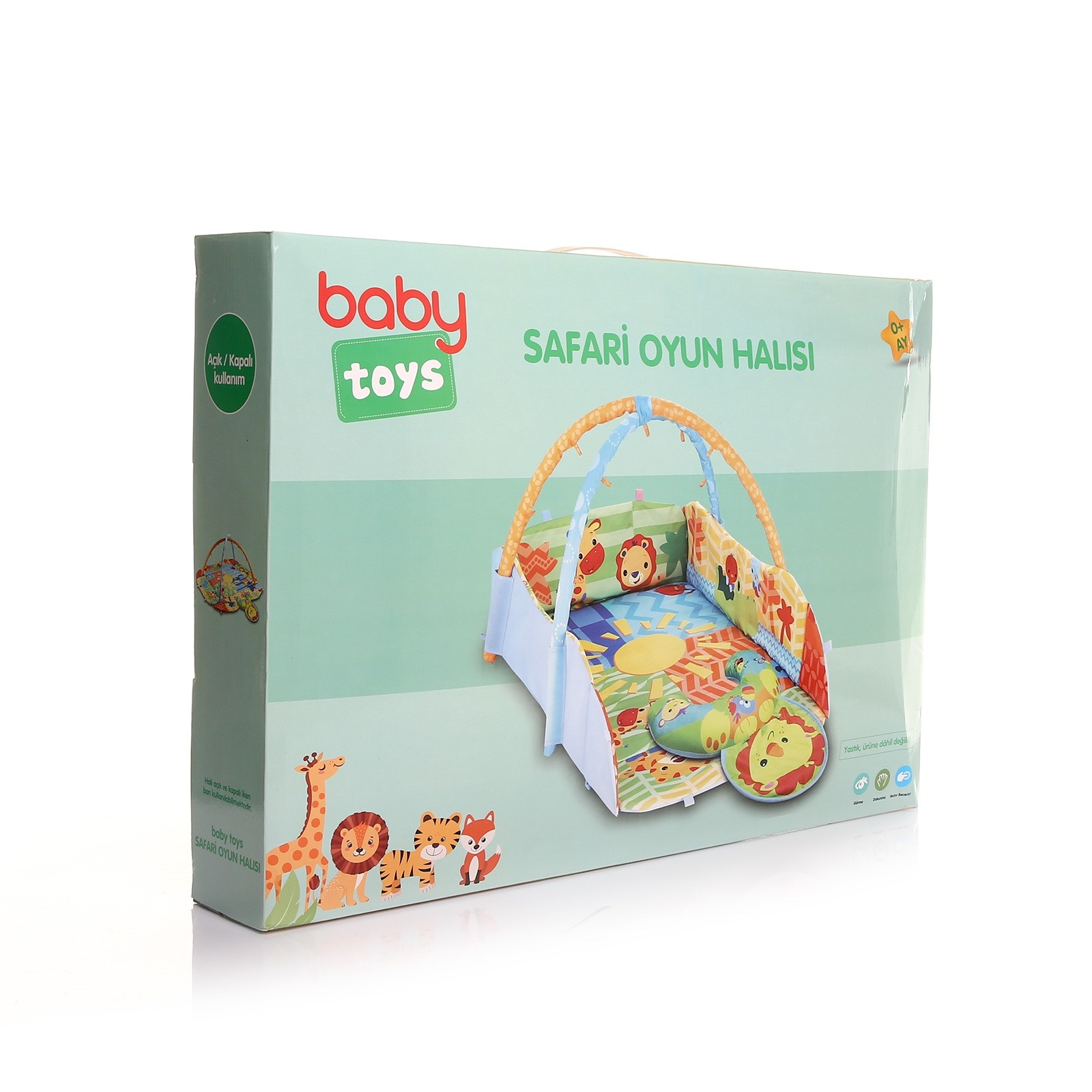 Ebebek Baby&toys Safari Baby Playing Game Carpet