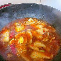 此季节最馋人的㊙️五花肉炖萝卜白菜的做法图解9