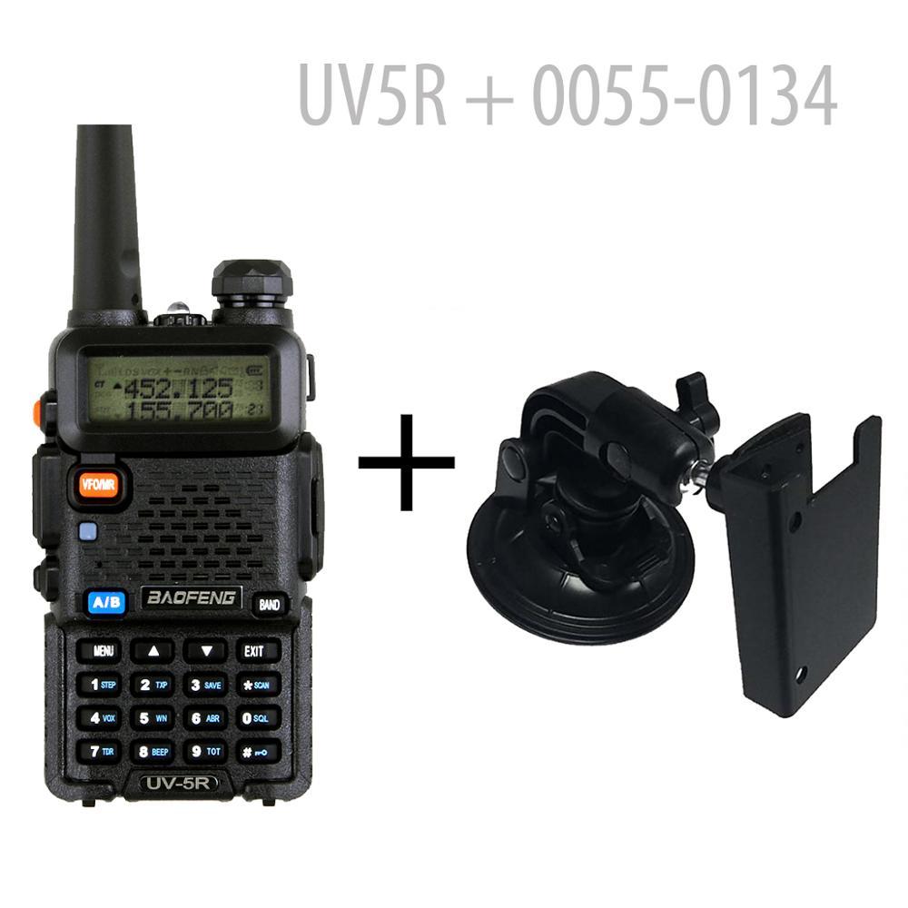 BAOFENG UV-5R Dual Band 4W HAM RADIO With Earpiece + Car Mount (126361)