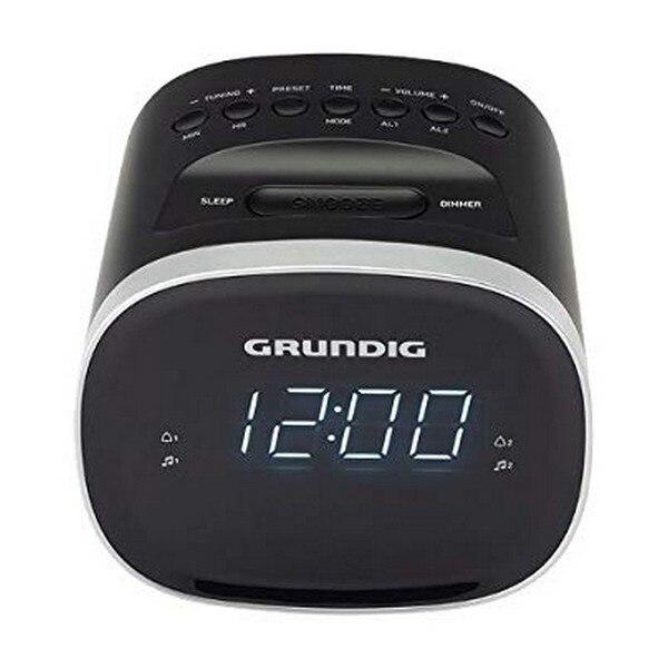 Часы-радио Grundig SCC-240 светодиодный USB 2,0 1,5W