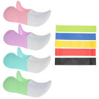 Dual Color Hip Training Clip Pelvic Floor Inner Thigh Muscle Exerciser Home Training Fitness Equipment Correction Buttocks Tool
