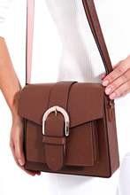 Tan women 's shoulder bag