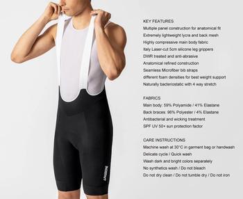 NEW 2020 BLACK bib shorts mtb bicicleta summer men cycling bib shorts pro team cycling shorts New Seamless Microfiber bib straps