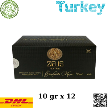 Zeus Super Effective Blend Herbal Aphrodisiac Paste Ginseng Epimedium vip premature ejaculation 10 gr x12 hurbolism new update tcm herbal powder to treat premature ejaculation extend sex time increase sperm strengthen body