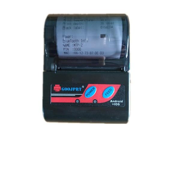 GOOJPRT 58mm Bluetooth Thermal Receipt Printer for Android iOS Phone Windows Receipt Printer POS Printers Device Printing Stores