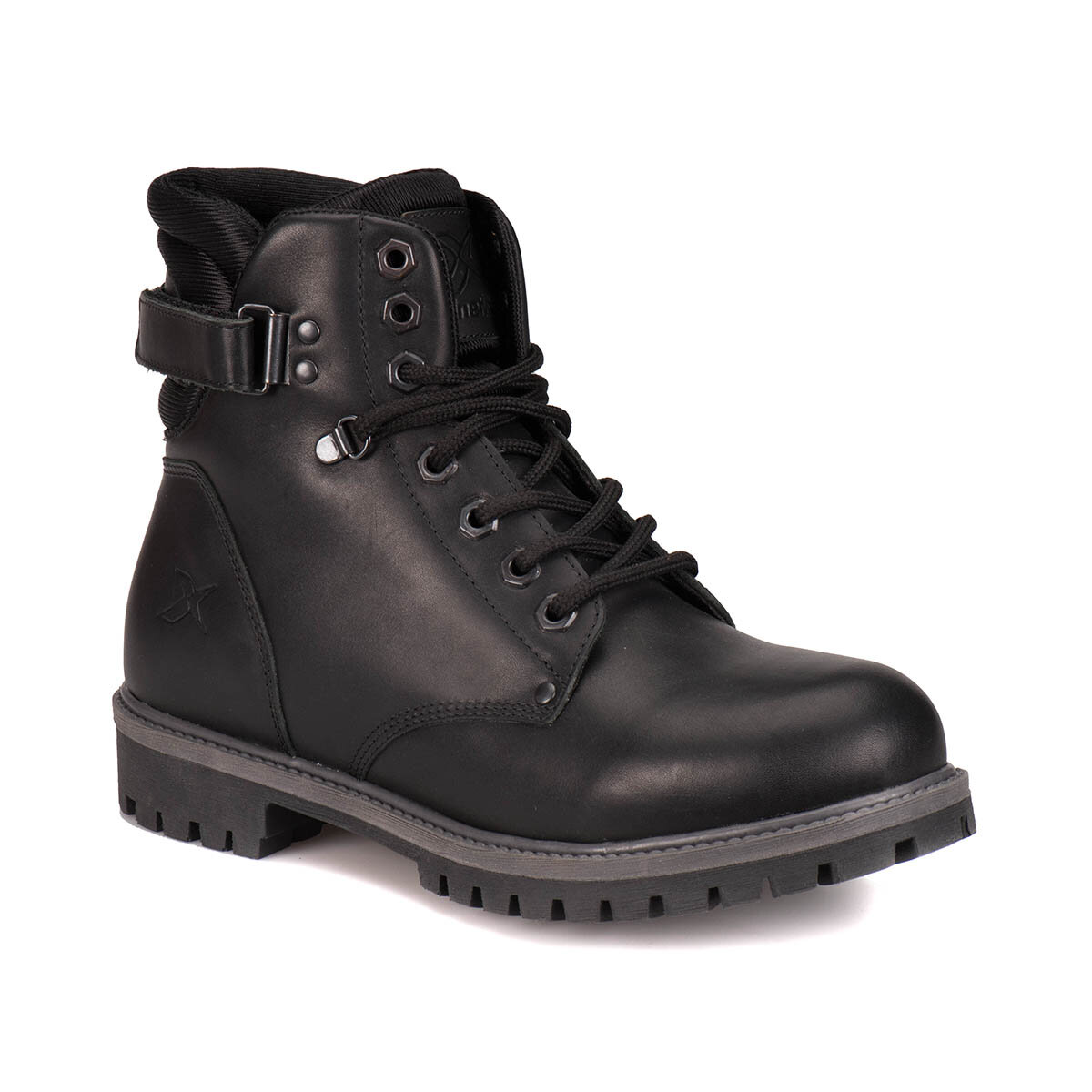 FLO A1305050 Black Men Boots KINETIX