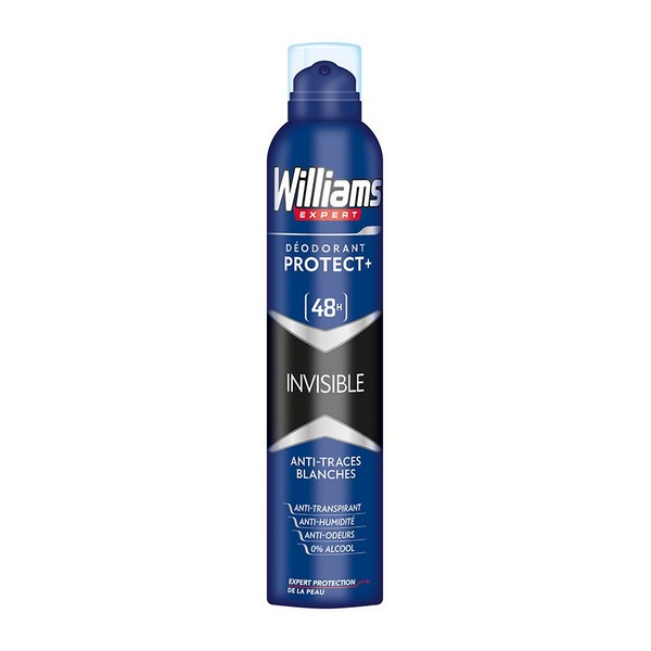 Spray Deodorant Invisible Williams (200 Ml)