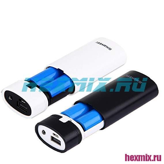 Power Bank HAWEEL 2x18650 5 V/2A