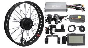 BAFANG 48 в 500 Вт 750 Вт Freehub Fat Tire Cassette заднее колесо 175 мм 190 мм набор преобразования для электрического велосипеда