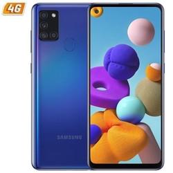Смартфон Samsung galaxy a21s 4 ГБ/128 ГБ/6,5 дюйма/синий