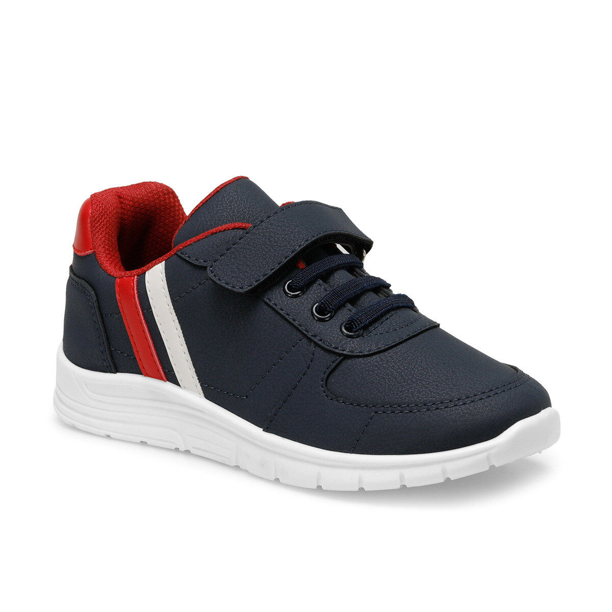 FLO DEMBA Navy Blue Male Child Hiking Shoes I-Cool