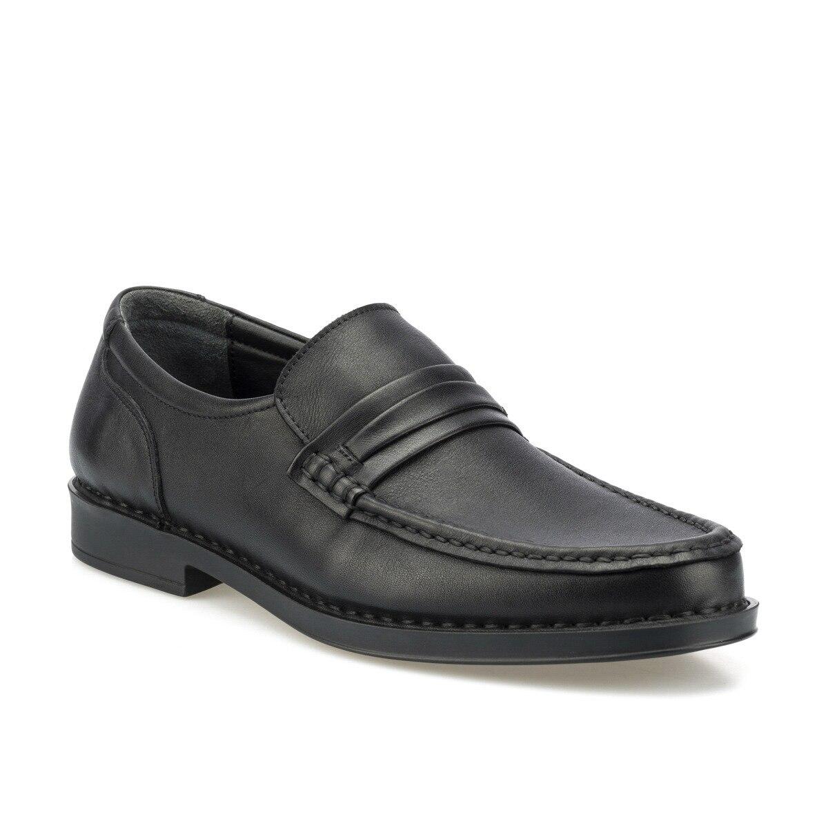 FLO 102024.M Black Men 'S Classic Shoes Polaris 5 Point