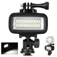 Neewer Video LED-20 20pcs Underwater 40m Diving Lamp Waterproof Video LED Light for DV Camera Gopro Hero4 3&other Action Camera