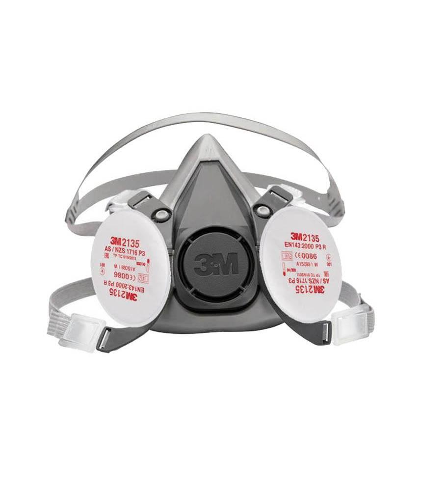 3M 6200 Half Facepiece Reusable Respirator+3M P3R Particulate Filters Bundle Best Solution Against Corona Viruse FFP3 N95 N99