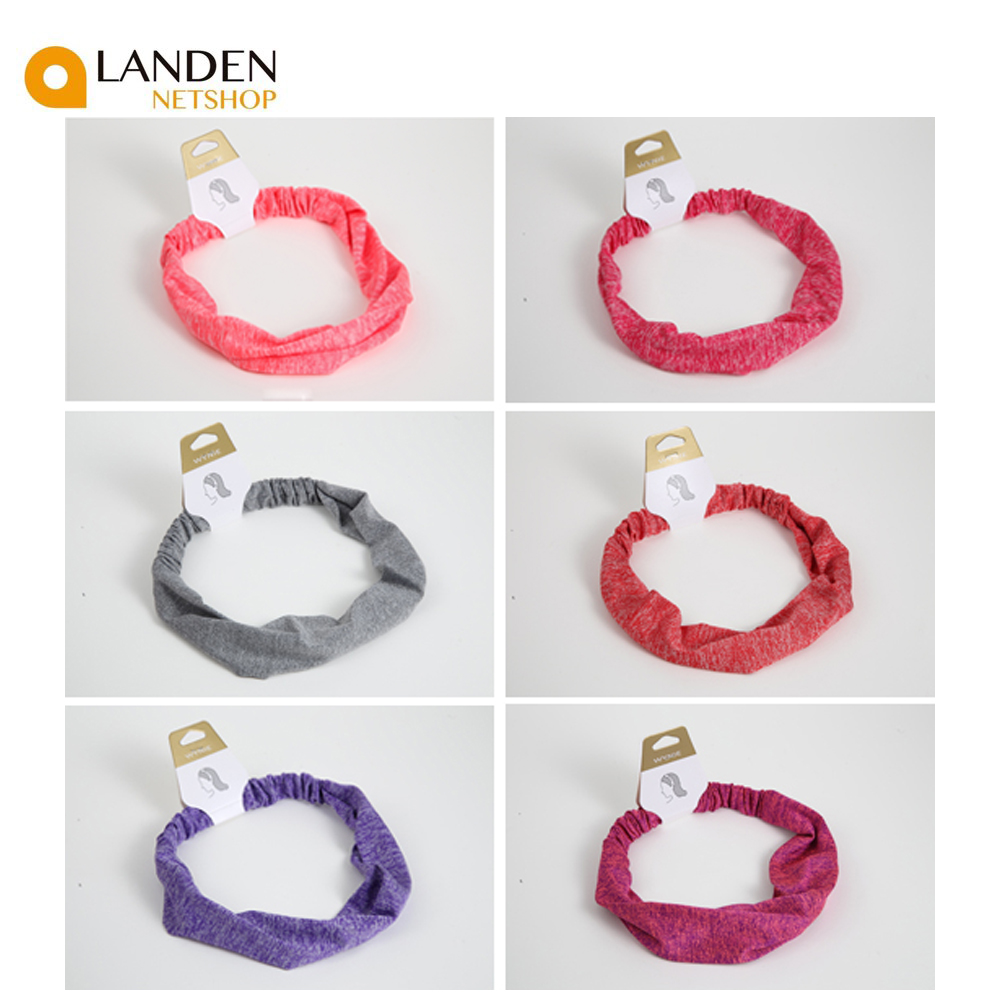 Vintage Style Headbands Elastic Hair Bands For Women, Fashion Hair Accessories Fashion Style Simple Color