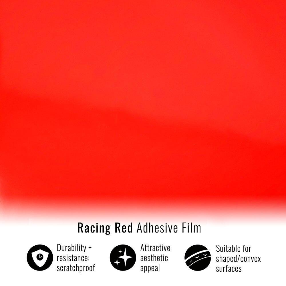 Клейкая пленка для автомобильной упаковки, гоночный красный