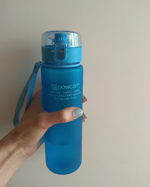 HOT Water Bottle 800ml 1000ml Plastic Direct Drinking Bottle School Water Bottles Shaker Bottle Gourde En Plastique Sport-in Water Bottles from Home & Garden on AliExpress