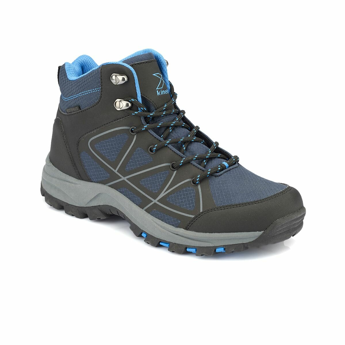 FLO PULSE HI WP Navy Blue Men 'S Trekking Shoes KINETIX