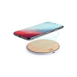 Bezprzewodowa ładowarka Qi do smartfonów USB Bamboo 146182