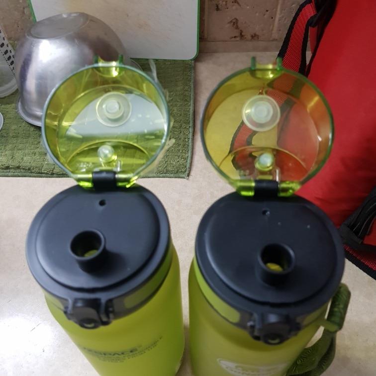 Explosion Sports Water Bottles 500ML 1L Protein Shaker Outdoor Travel Portable Leakproof Tritan plastic My Drink Bottle BPA Free-in Water Bottles from Home & Garden on AliExpress
