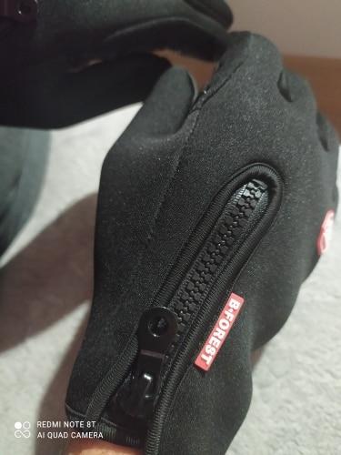 Anti-Slip Warm Touchscreen Cycling Gloves photo review